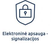 Elektronine apsauga - signalizacijos